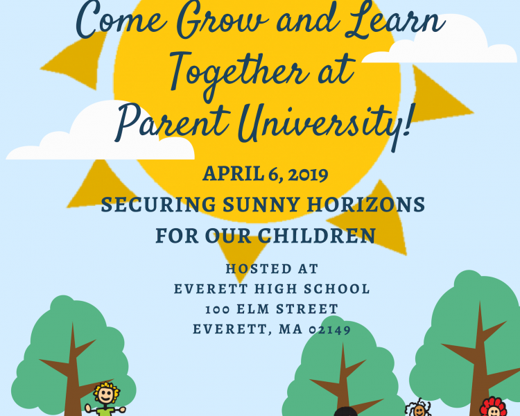 Parent University Flyer