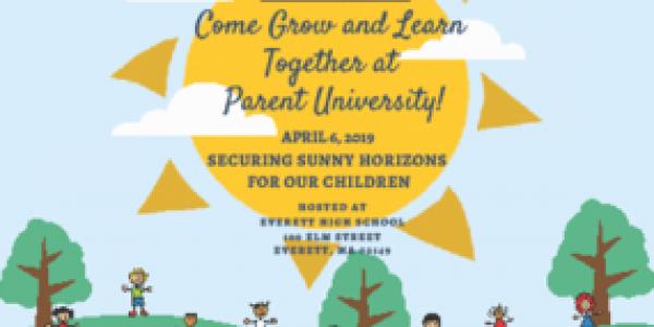 Parent University Postcard