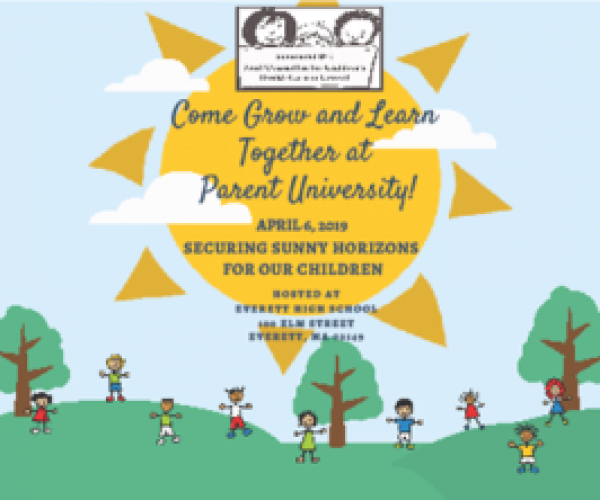 Parent University Postcard