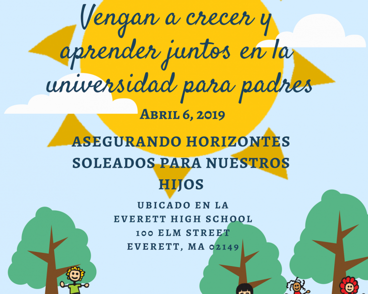 Parent University Flyer Spanish
