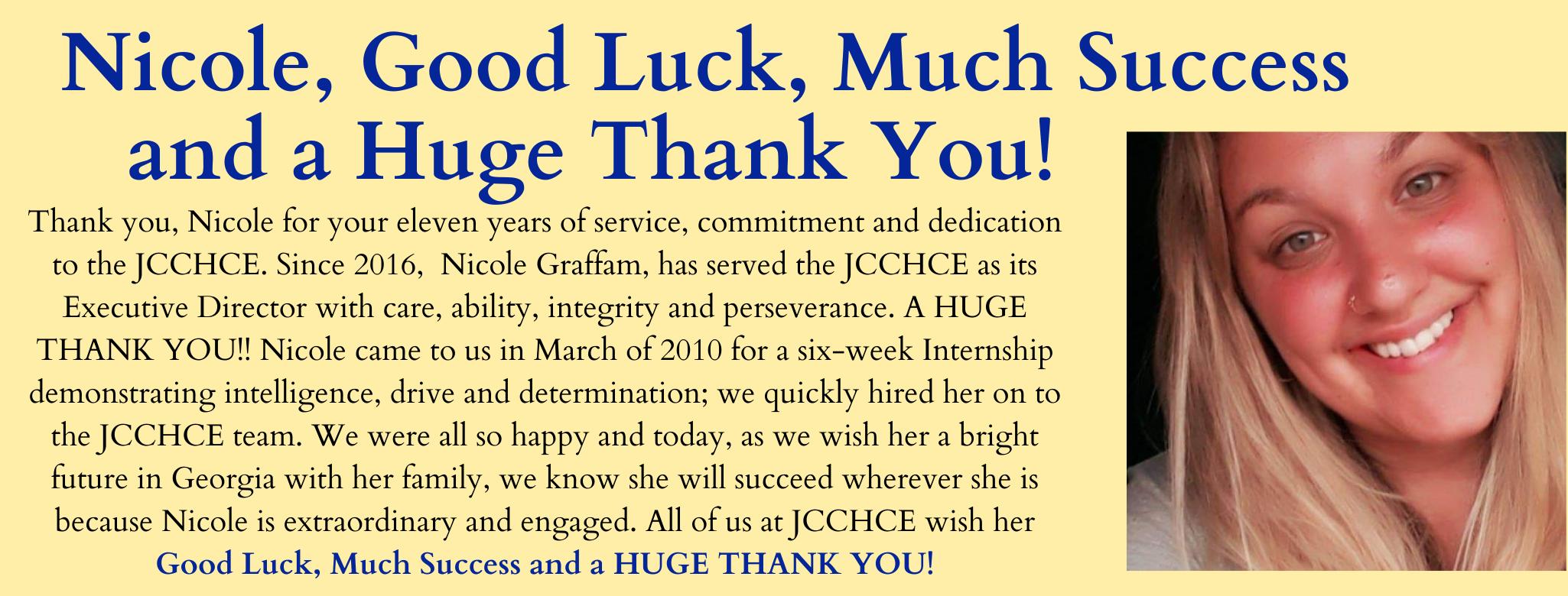 Goodbye Nicole